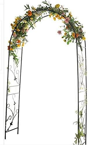 Trädgårdspallar för klätterväxter Utomhus trädgård Rose Arch Plant Support Stakes, Heavy Duty Climbing Plants Archway för utomhusgräsmatta Garden Arbours