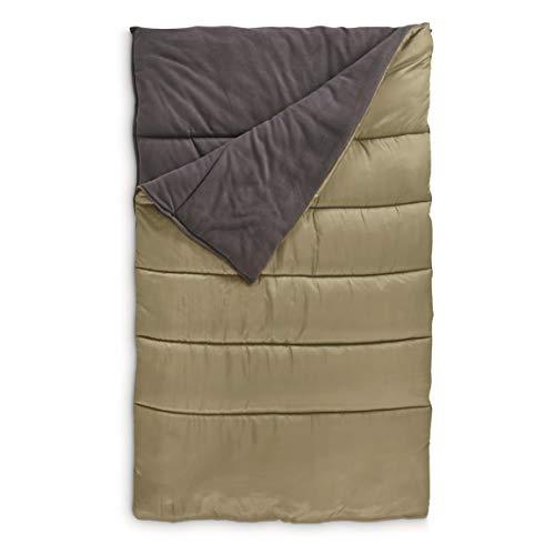 Guide Gear Fleece Lined Double Sleeping Bag, 20°F