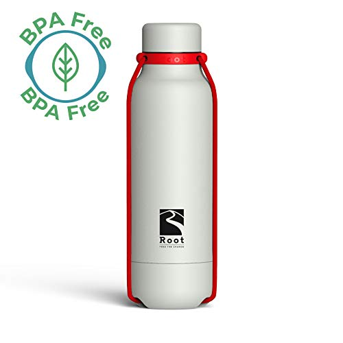 Isolierflasche EASY-TAKE 1,0 Liter Blue Edelstahl Thermoskanne Outdoor Ausgießer