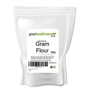Yourhealthstore Premium Gram Harina sin gluten 500 g (harina de garbanzo)