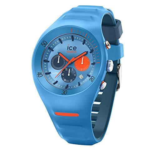 Ice-Watch - P. Leclercq Light blue - Blaue Herrenuhr mit Silikonarmband - Chrono - 014949 (Large)