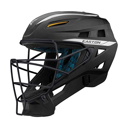 EASTON PRO X Baseball Catchers Helmet, Large, Matte Black