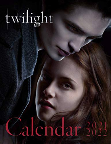 Twilight: 2021-2022 Wall Calendar with Official Holidays. 17''x11''