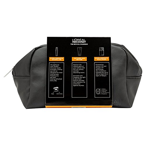 L'Oreal Men Expert The Gentleman's Washbag Vita Lift 3 Piece Christmas Gift Set For Him