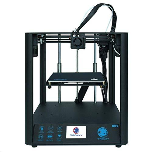 TRONXY, stampante 3D D01, scheda madre ultra silenziosa + estrusore in titanio, montaggio rapido con funzione Resume Printing per principianti e utenti domestici
