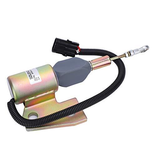 Material de calidad 3991167 12V de la calidad de la válvula solenoide del flameout del interruptor para la industria de Cummins 4BT