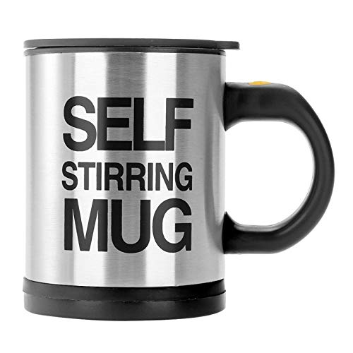 Tazas de café con agitación de autocalentamiento, mezclador magnético automático Material de...