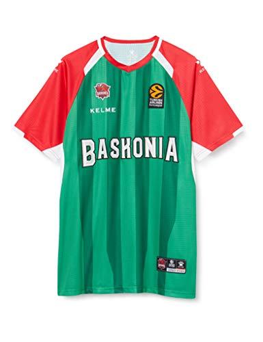Baskonia Shooting Camiseta, Adultos Unisex, Verde, XS