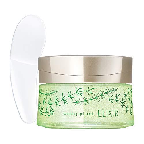 エリクシール(ELIXIR) スリーピングジェルパック WN フェイスパック 限定品(ナイトグリーンアロマの香り) 105g