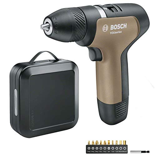 Bosch 0.603.9C5.001 Cordless YOUseries Drill (1 Battery in Black Case)