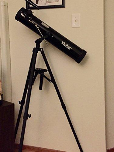 commercial Vivitar TEL76700 263X / 525X Telescopic reflector with tripod (black) vivitar telescopes