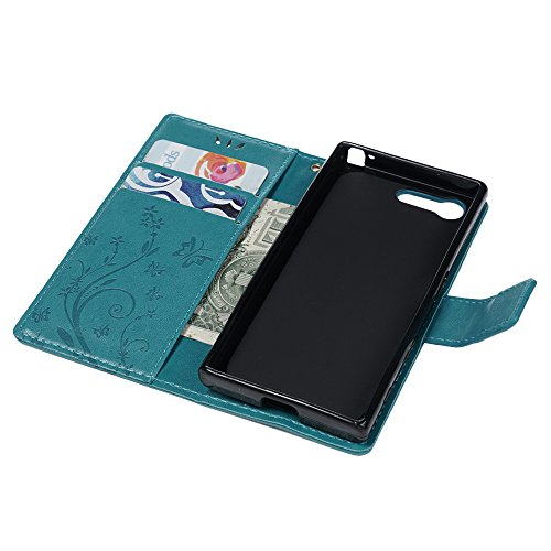 Sony Xperia X Compact Lederhülle, Flipcase, Blau - 7