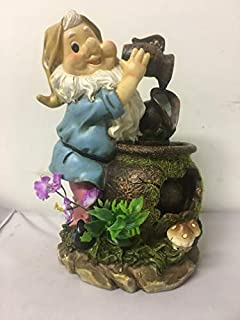 ELEGANT HOMES GNOME WATER FEATURE