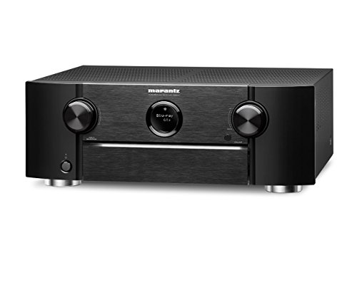 Marantz SR6011/N1B Heimkino 9.2 AV Receiver mit Bluetooth und Wi-Fi, schwarz
