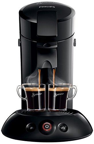 Senseo Original hd7817Pod Superfish Machine à café 0,7l Noir–Cafetière (sur pied, pour...