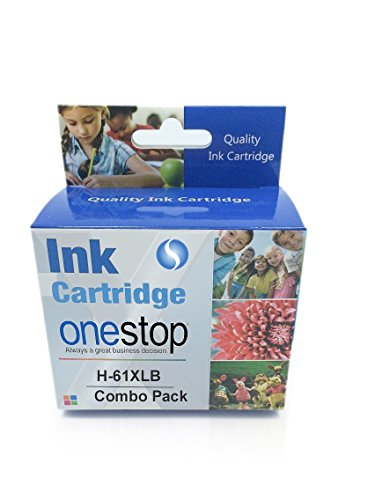 MX Remanufactured High Yield Ink Cartridges for HP 61 & 61XL HP Printers Envy 4500 5530 5534 5535, HP Deskjet 2540 1000 1010 1512 1510 3050, HP Officejet 4630 2620 4635 (Black+Color(Combo))