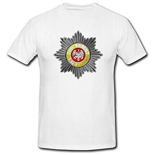 preußischer Gardestern Suum Cuique Preußen Adler Orden Medaille - T Shirt #5565, Größe:XXL, Farbe:Weiß