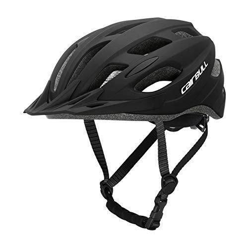 Casco De Bicicleta Casco De Bicicleta De Montaña Ligero, Desmontable, Casco Protector De Seguridad para Bicicletas, para Hombres/Mujeres Adultos