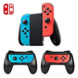 Manette Switch Joy-Con Grips, Timoom 3 Psc Manette Nintendo Switch Coque de Protection Contrôleur Jeu Poignées Kit, Avec Paume Incurvée Réduisant Fatigue pour Switch Joy-Con