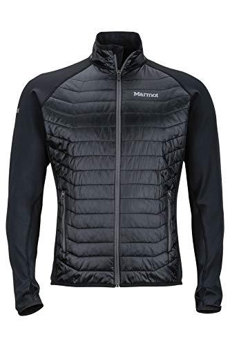 Marmot Variant Jacket Forro Polar, Chaqueta para Exteriores con Cremallera Completa, Transpirable, Resistente Al Viento, Hombre, Black, XL