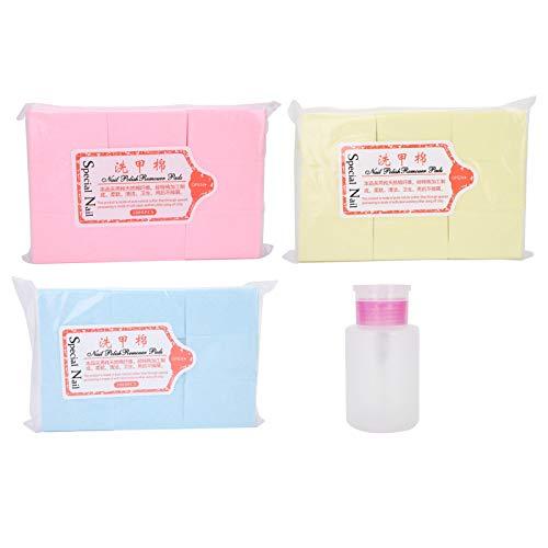 Removedor de puntas de gel UV de eliminación rápida de uñas removedor de esmalte de uñas toallitas para uso en salón de uñas para amantes del arte de uñas para bricolaje