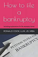 How to file a bankruptcy: Including explanations on how to fill out the necessary forms