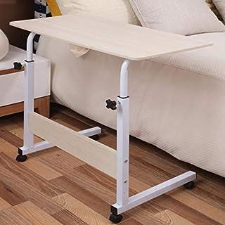 LUZAISHENG Wood Texture Portable Household Removable Laptop Desk Table Bedside Desk (Color : Color4)
