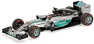 Minichamps 417150344 1:43 Scale Mercedes AMG Petronas F1 Lewis Hamilton Winner Japanese GP 2015