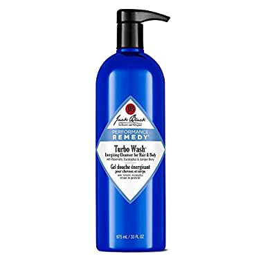 Jack Black Turbo Wash Energizing Cleanser for Hair & Body, 33 fl. oz.