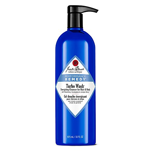Jack Black Turbo Wash Energizing Cleanser for Hair & Body - 33 Fl Oz
