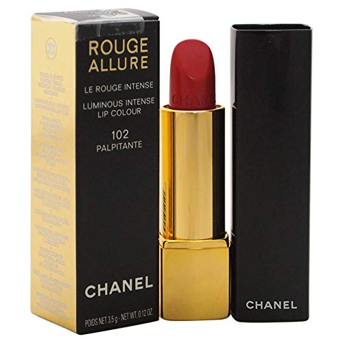 Chanel rot Allure Lippenstift 102-palpitante 3.5 g - Damen, 1er Pack (1 x 1 Stück)