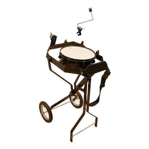 Schlagzeugwagen für 4 Toms, mit Snare, Hi-Hat Rosette, 1 Beckenhalter