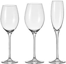 sin roturas 455 ml Transparentes Juego de 16 Copas de Vino de pl/ástico sin Tallo Renaissence