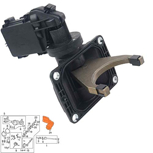 Front 4WD Differential Axle Locker Actuator 68216944AA 68216944AB Replacement for 2013-2018 Dodge Ram 2500 3500 5.7/6.4L Disconnect Fork Assembly GELUOXI
