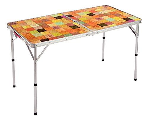 コールマン(Coleman) テーブル ナチュラルモザイクリビングテーブル 120プラス ベージュ 約4.5kg 2000026751