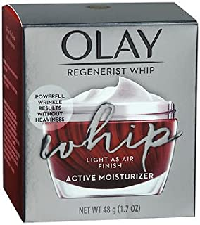 Olay Regenerist Whip Active Moisturizer 1.7 Ounce (50ml) (2 Pack)