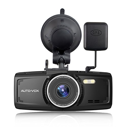 AUTO-VOX D1 Dash Cam With GPS 2.7-Inch LCD FHD 1080P Dashboard Camera For Cars with Night Vision...