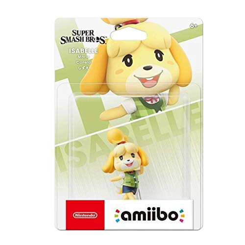 Luck7DZ Amiibo - Super Smash Bros Isabelle Exquisita Figura Coleccionable, Multicolor Paisaje de la decoración Adornos