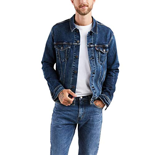Levi\'s Herren Trucker Jacket Jeansjacke, Colusa/Stretch (wasserlos), XXXL
