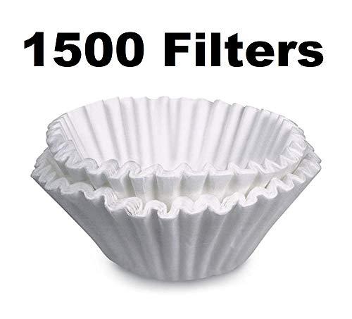 OKSLO Basket filter for bunn home brewer bcf100-b, 1500 pack