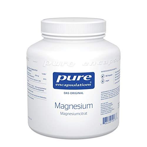 Pure Encapsulations - Magnesiumcitrat - 180 vegane Kapseln