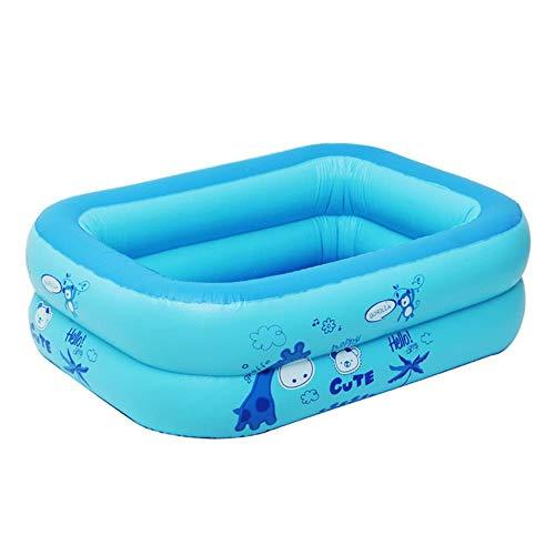 CICI 120x80x35cm baño Hijos la alimentación Infantil casa de la Piscina para el baño de Piscina Infantil Inflable para un Corto de los niños,Doble Capa