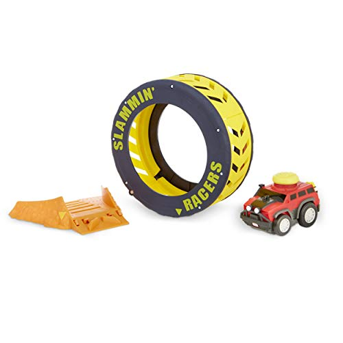 Little Tikes Slammin' Racers Turbo Tire Playset & Vehicle with Sounds JungleDealsBlog.com