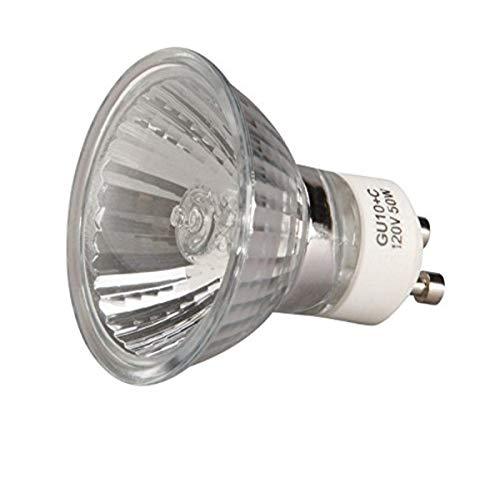 """Broan-NuTone GU10 Replacement Halogen Bulb, 3.75"""" x 3.75"""" x 3.625"""", 120V, 50W"", 13 watts"