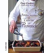 Petites leçons de cuisine en Provence de Marie-Pierre Moine