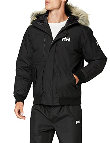 Helly Hansen Montes Bomber Jacket Chaqueta, Hombre, Negro, XL