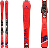 DYNASTAR Speed Zone 6 Skis w/Xpress 10 Bindings Mens Sz 158cm Red