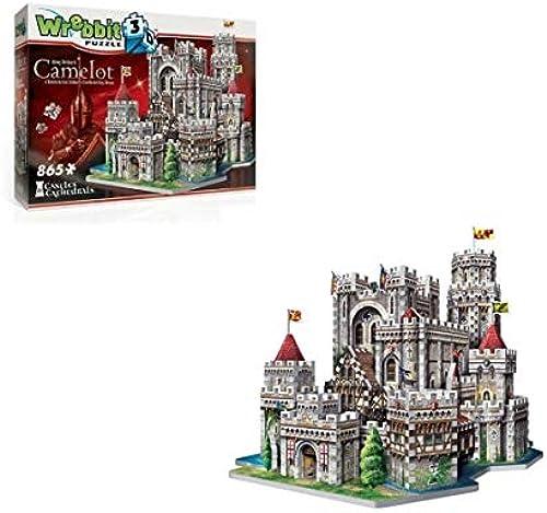 Wrebbit 3D - Puzzle 3D MonuHommest - Camelot 865 Pièces - 0665541020162