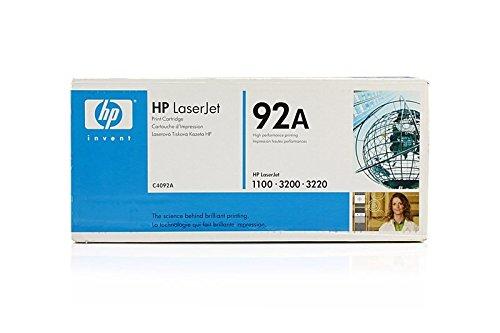 Original HP C4092A / 92A, für LBP-1100 Series Premium Drucker-Kartusche, Schwarz, 2500 Seiten