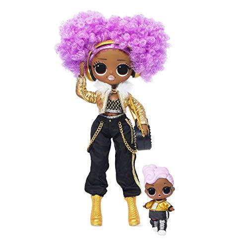 L.O.L. Surprise! O.M.G. Winter Disco 24K D.J. Fashion Doll & Sister